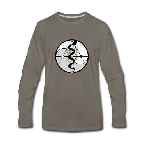 Frequism Logo - Men's Premium Long Sleeve T-Shirt