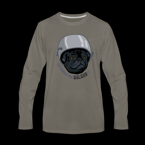 Rule the Galaxy - Men's Premium Long Sleeve T-Shirt
