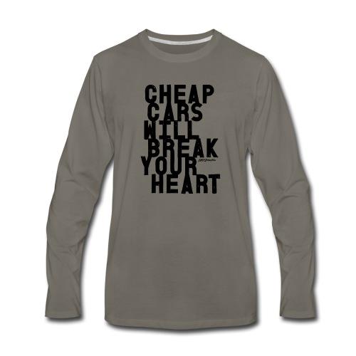 Cheap car - Men's Premium Long Sleeve T-Shirt