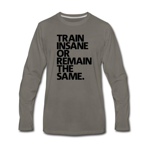traininsane - Men's Premium Long Sleeve T-Shirt