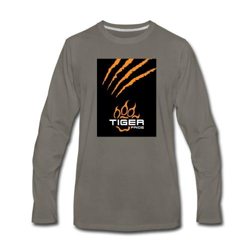 Tiger Pride iPad Case - Men's Premium Long Sleeve T-Shirt
