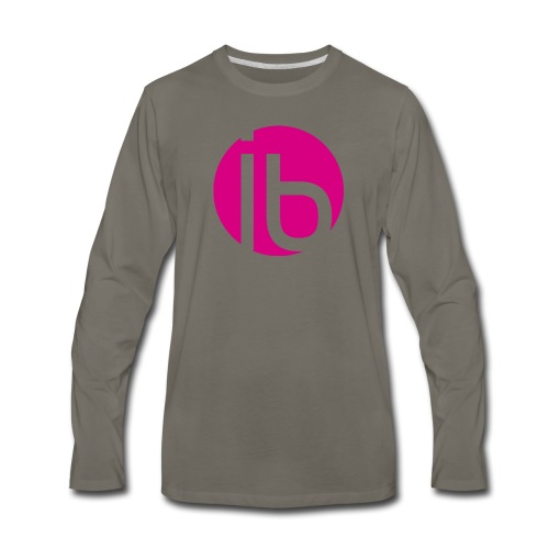 logo_isabelleBrunet - Men's Premium Long Sleeve T-Shirt