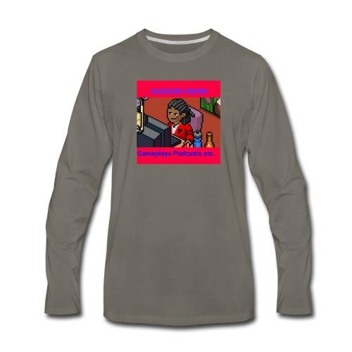 The firts Dandier Rhino Merchandise - Men's Premium Long Sleeve T-Shirt