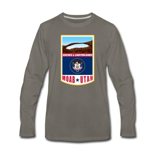 Utah - Moab, Arches & Canyonlands - Men's Premium Long Sleeve T-Shirt