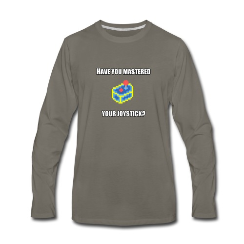 MasteredYourJoystick - Men's Premium Long Sleeve T-Shirt