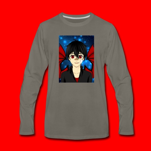 vampire boy kryotic - Men's Premium Long Sleeve T-Shirt