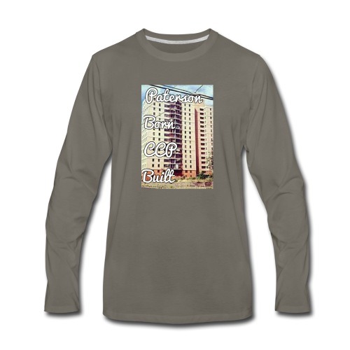 Paterson Born CCP Built - Men's Premium Long Sleeve T-Shirt
