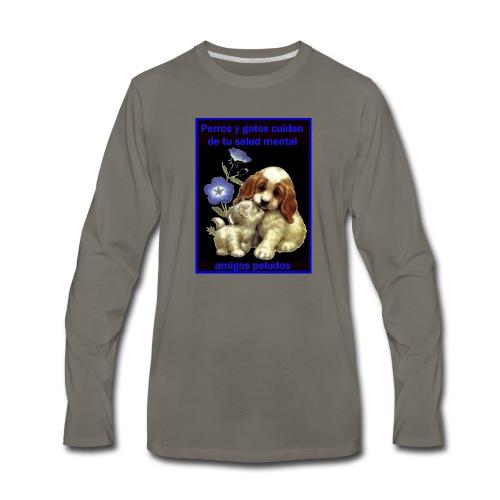 MASCOTAS Y SALUD - Men's Premium Long Sleeve T-Shirt