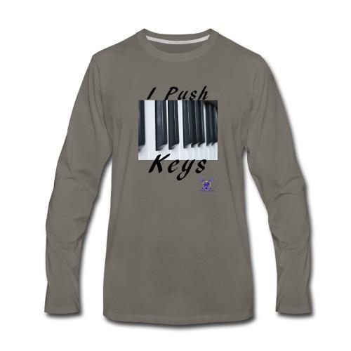 Push keys T - Men's Premium Long Sleeve T-Shirt