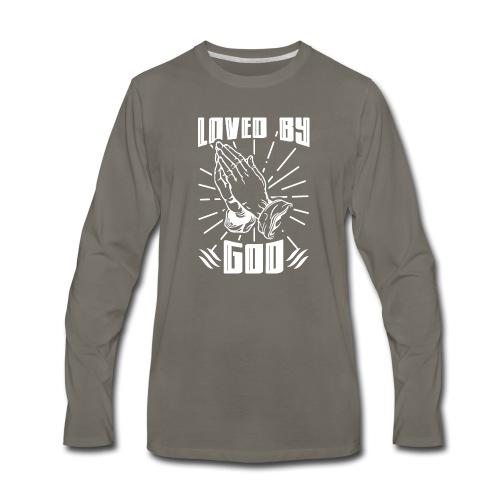 Loved By God - Men's Premium Long Sleeve T-Shirt