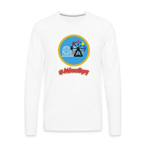Paradise Pier Explorer Badge - Men's Premium Long Sleeve T-Shirt