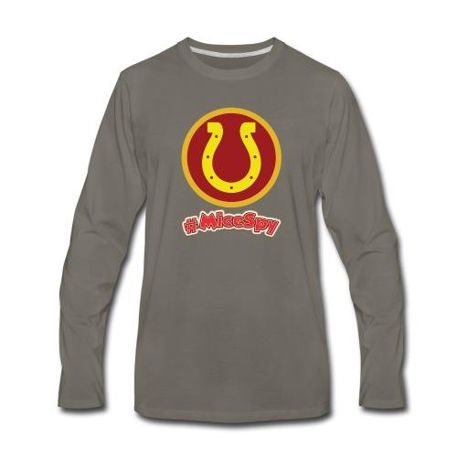 Golden Horseshoe Explorer Badge - Men's Premium Long Sleeve T-Shirt