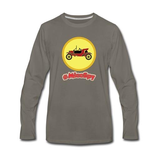 Mr. Toad Motorcar Explorer Badge - Men's Premium Long Sleeve T-Shirt