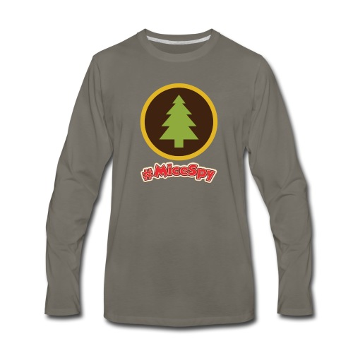 Redwood Creek Explorer Badge - Men's Premium Long Sleeve T-Shirt