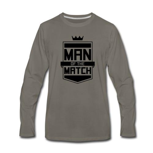 Man of the Match - Men's Premium Long Sleeve T-Shirt