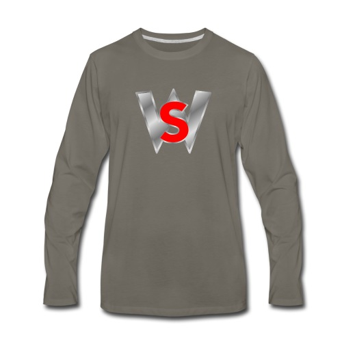 Shahmar woleslagle merch - Men's Premium Long Sleeve T-Shirt