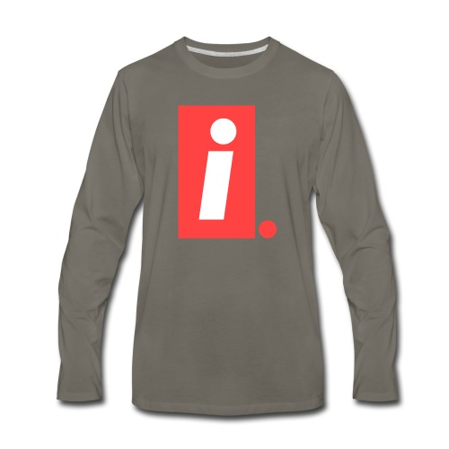 Ideal I logo - Men's Premium Long Sleeve T-Shirt