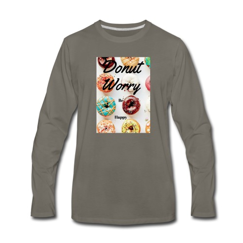 DONUTS! - Men's Premium Long Sleeve T-Shirt