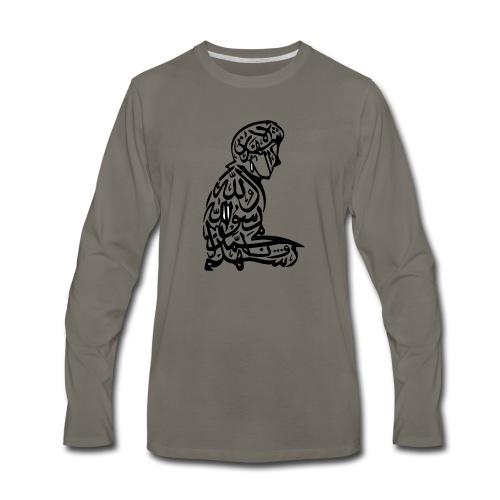 Faith - Men's Premium Long Sleeve T-Shirt