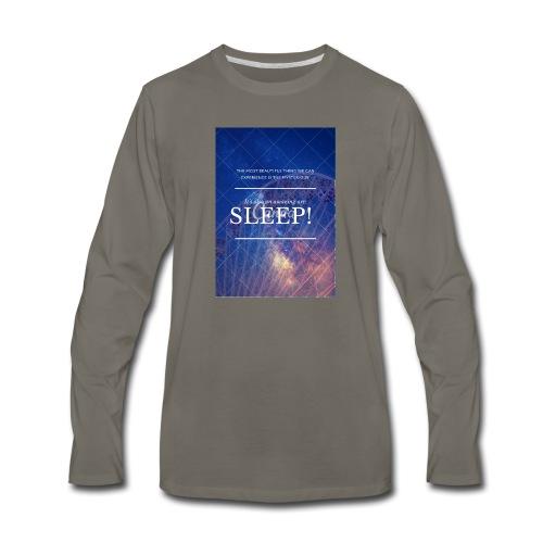 Sleep Galaxy by @lovesaccessories - Men's Premium Long Sleeve T-Shirt