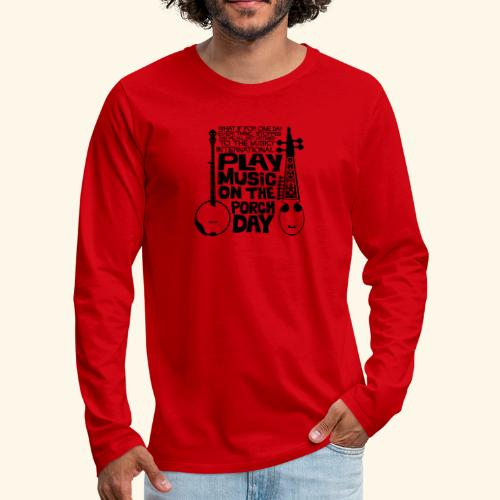 BANJO_RABAB - Men's Premium Long Sleeve T-Shirt