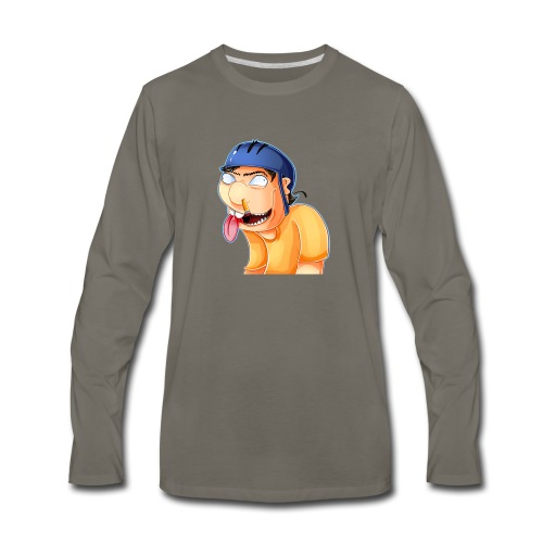 jeffy clipart - Men's Premium Long Sleeve T-Shirt