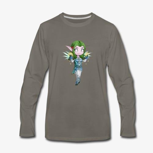WoW Priest - Men's Premium Long Sleeve T-Shirt