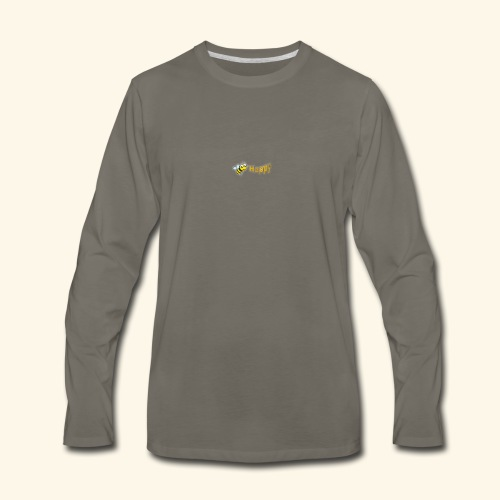 Be Happy - Men's Premium Long Sleeve T-Shirt