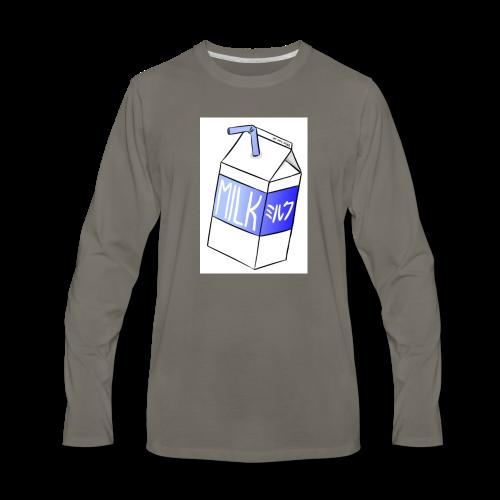 Box of milk - Men's Premium Long Sleeve T-Shirt