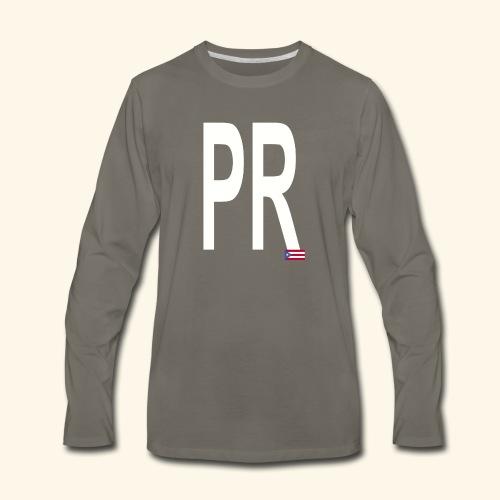 PRbyHaryCornier2 - Men's Premium Long Sleeve T-Shirt