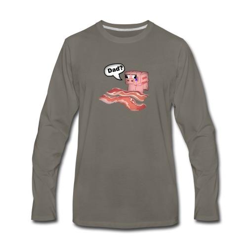 Bacon Tee Shirt - Men's Premium Long Sleeve T-Shirt