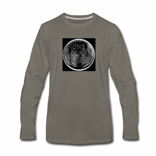 wheat back - Men's Premium Long Sleeve T-Shirt