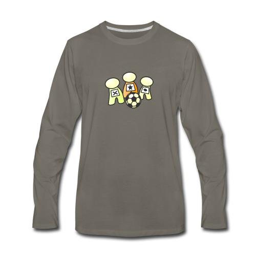 Logo without text - Men's Premium Long Sleeve T-Shirt