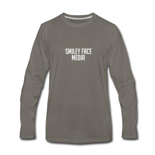 Smiley Face - Men's Premium Long Sleeve T-Shirt