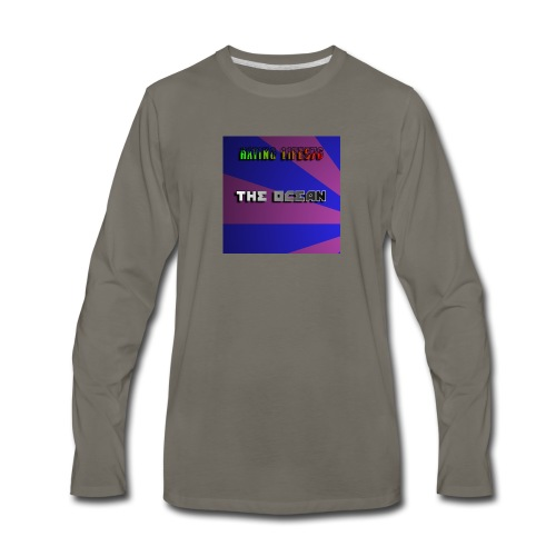 The Ocean Cover - Men's Premium Long Sleeve T-Shirt