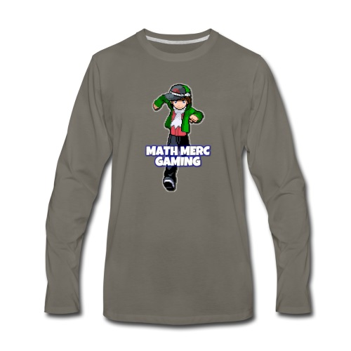 Math Merc Gaming - Men's Premium Long Sleeve T-Shirt