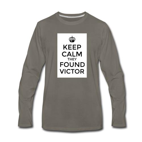 Found Victor - T-Shirt - Men's Premium Long Sleeve T-Shirt