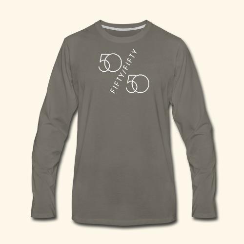 Fifty Fifty - Men's Premium Long Sleeve T-Shirt