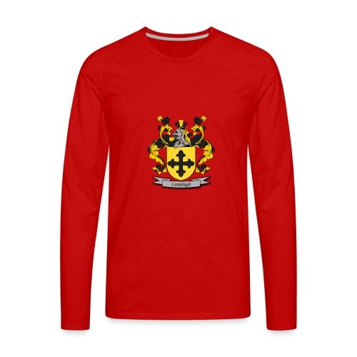 Lamplugh Family Crest - Men's Premium Long Sleeve T-Shirt