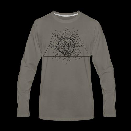 TRICEPTION - Men's Premium Long Sleeve T-Shirt