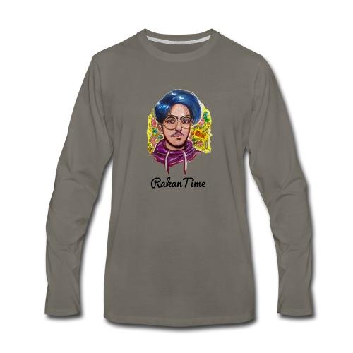 راكان تايم - Men's Premium Long Sleeve T-Shirt