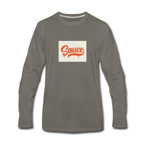 saucey brand - Men's Premium Long Sleeve T-Shirt