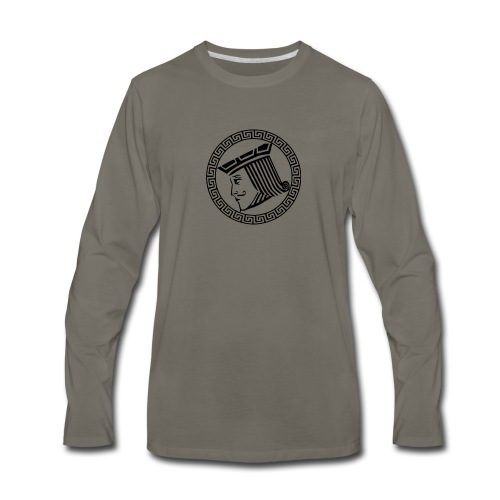 Greek Jack - Men's Premium Long Sleeve T-Shirt