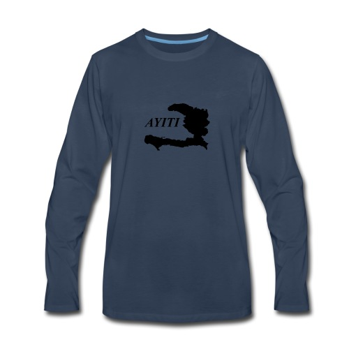 Hispaniola - Men's Premium Long Sleeve T-Shirt
