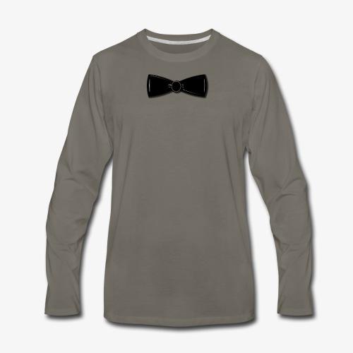 Tuxedo Bowtie - Men's Premium Long Sleeve T-Shirt