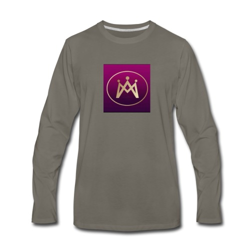 230crazy Logo - Men's Premium Long Sleeve T-Shirt