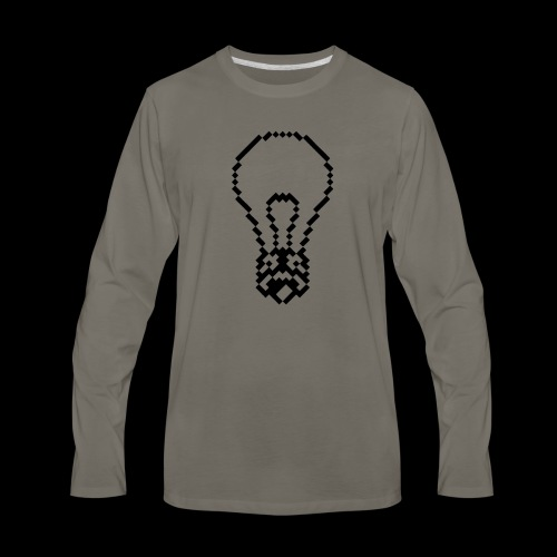 lightbulb - Men's Premium Long Sleeve T-Shirt