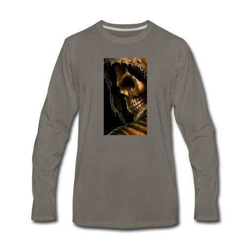 99798 skull 498 - Men's Premium Long Sleeve T-Shirt
