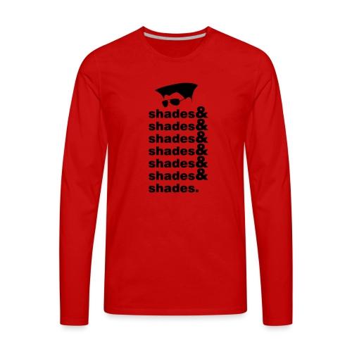 shades&shades - Men's Premium Long Sleeve T-Shirt