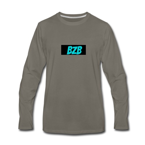 bzb short for BreZeeyBre - Men's Premium Long Sleeve T-Shirt